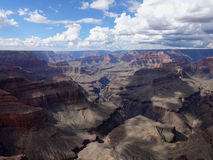 Aerial view grand canyon Stock Images