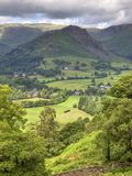 Aerial view of Grasmere Stock Photos