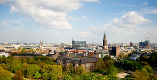 Aerial view of Hamburg. Germany Stock Image