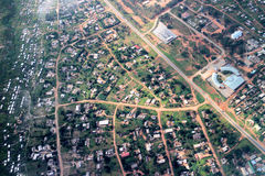 Aerial view of Harare Stock Photo