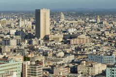 Aerial view of the Havana city in Havana, Cuba. Stock Photos