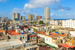 Aerial view of Havana Royalty Free Stock Images