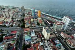 Aerial view of Havana Royalty Free Stock Photos