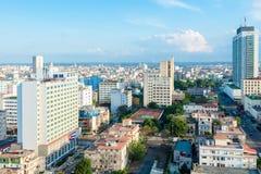 Aerial view of Havana Royalty Free Stock Photo