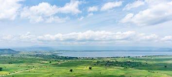 Aerial view of Hawassa Royalty Free Stock Photo