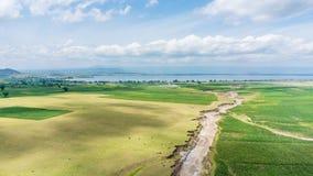 Aerial view of Hawassa Royalty Free Stock Image
