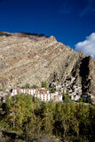 An aerial view of Hemis Monastery, Leh-Ladakh, Jammu and Kashmir, India Royalty Free Stock Image
