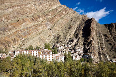 An aerial view of Hemis Monastery, Leh-Ladakh, Jammu and Kashmir, India Royalty Free Stock Photos