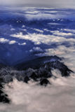 Aerial view of Himalayas Stock Photos