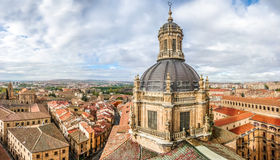 Aerial view of the historic city of Salamanca from the Top of Ig Stock Image