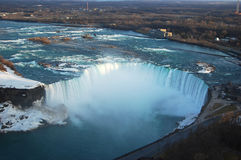 Aerial view of Horseshoe Falls Royalty Free Stock Photography