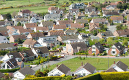 Aerial View Houses, Housing Estate, Development Royalty Free Stock Photography