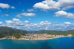 Aerial view of Icmeler, Turkey Royalty Free Stock Images