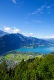Aerial view of Interlaken Royalty Free Stock Photos