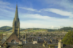 Aerial view of Inverness Royalty Free Stock Photos