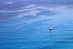 Aerial View of Ionian Sea. Beautiful View near Lefkada Island, Greece stock images