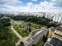 Aerial view of Ipiranga in Sao Paulo, Brazil Stock Image
