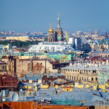 Aerial View from Isaac Cathedral, Saint Petersburg Stock Photography