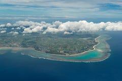 Aerial view of Ishigaki Island Stock Images