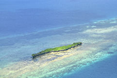 Aerial view Island Stock Image