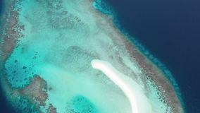 Aerial View. Islands of the tropical seas. stock video footage