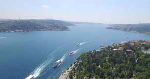 Aerial view of istanbul Stock Images