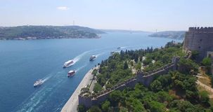 Aerial view of istanbul Stock Photo