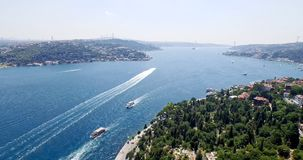 Aerial view of istanbul Stock Photography