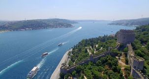 Aerial view of istanbul Royalty Free Stock Photography