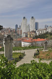 Aerial view of Istanbul City Stock Images