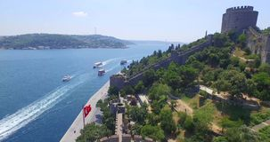 Aerial view of istanbul Stock Image