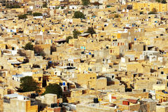 Aerial view of Jaisalmer Stock Image
