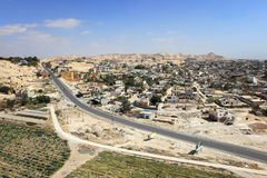 Aerial View of Jericho Royalty Free Stock Photography