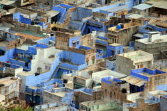 Aerial view of Jodhpur. The Blue city seen from above Stock Photography