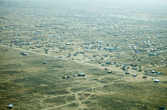 Aerial view of Juba, South Sudan Stock Photo