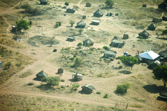 Aerial view of Juba, South Sudan Royalty Free Stock Images