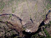 Aerial view, Kakadu N/P Stock Photo
