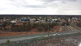 Aerial view of Kalgoorlie. Township Western Australia Royalty Free Stock Images