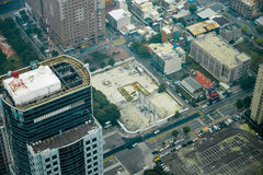 Aerial view of Kaohsiung City Stock Photos