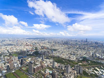 Aerial view of kaohsiung city Stock Image