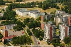 Aerial view of Karoliniskes, Vilnius, Lithuania Stock Photo