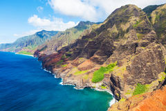 Aerial view of kauai Royalty Free Stock Photography