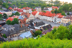 Aerial view, Kazimierz Dolny, Poland Stock Photos
