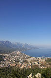 Aerial view of Kemer city, Turkey Stock Photo