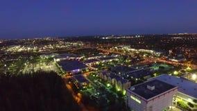 Aerial view kendall neighborhood Miami. tourism stock footage