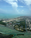 Aerial view Key West Florida Royalty Free Stock Photo