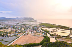 Aerial view from Khao Dang Stock Photos
