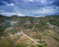 Aerial view of khao kho petchabun north eastern of thailand most Stock Photography