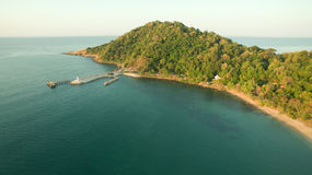 Aerial view of khao laem ya and samed island national park in ra Stock Photos