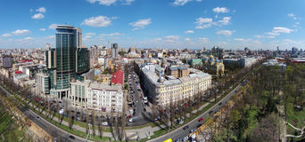 Aerial view of Kiev, Ukraine Royalty Free Stock Image